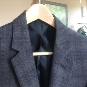 Kenneth Cole Suits & Blazers - New Kenneth Cole Glen Plaid Wool Sportcoat Blazer